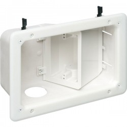 Arlington Industries - TVB712 - Arlington Recessed TV Box with Angled Openings