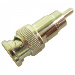 Calrad - 75-563 - Calrad Electronics 75-563 RCA Male to BNC Male Adapter