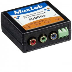 MuxLab - 500055 - Component, Video/ir Pass-thru Balun-f