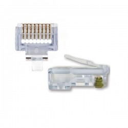 Platinum Tools - 105003 - Platinum Tools EZ-RJ45 105003 Cat.5e Connector - 500 Pack - 1 x RJ-45 Male