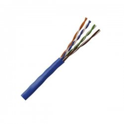 Structured Cable Products - CAT5E-BLUE - Cable, Unshld Multipr, 4pr, Cat5e, 24awg, Blu, 1000ft, 30v