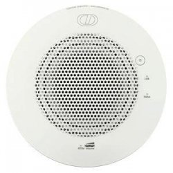 CyberData - 011105 - CyberData - 10 W PMPO Speaker - Signal White - 96 dB Sensitivity - Ceiling Mountable