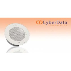 CyberData - 011121 - CyberData v2 Analog Speaker (for use with v2 VoIP Ceiling Speakers) - Signal White
