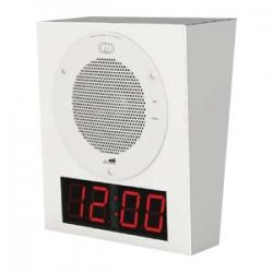 CyberData - 011153 - Wall Mount Clock Kit Std Color Gray White 9002