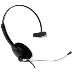 snom - 1122 - Snom HS-MM2 Headset - Mono - Wired - Over-the-head - Monaural - Semi-open