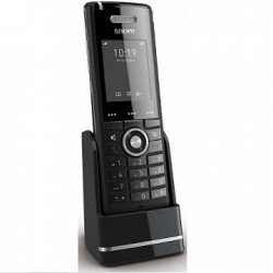 snom - 3969 - Snom M65 DECT Handset with Wideband HD Audio Quality - 18 Hour Battery Talk Time
