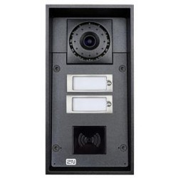 2N Telecommunications - 9151102CRW - 2N Helios IP Force - 2 buttons + camera (card reader ready) + 10W speaker