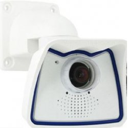 Mobotix - MX-M24M-SEC - Mobotix Allround M24 MX-M24M-SEC Network Camera - Color, Monochrome - CS Mount - 11 mm - CMOS - Cable - Fast Ethernet - USB