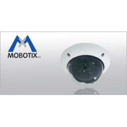 Mobotix - D25MSECNIGHT - Mobotix MonoDome D25M-SEC-NIGHT 5 Megapixel Network Camera - Color, Monochrome - 640 x 480 - CMOS - Cable - Fast Ethernet - USB - Dome - Wall Mount, Pole Mount