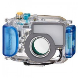 Canon - 3466B001 - Canon WP-DC29 Underwater Case for Camera - Clear - Water Proof - Polycarbonate