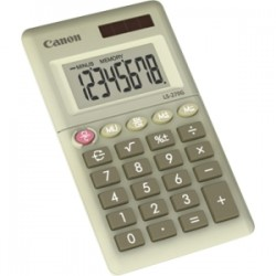 Canon - 4640B001 - Canon LS-270G 8-digit Handheld Calculator - Auto Power Off - 8 Digits - LCD - Battery/Solar Powered - 0.4 x 2.4 x 4.1