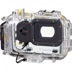Canon - 5708B001 - Canon WP-DC45 Underwater Case for Camera - Clear - Water Proof, Weather Proof