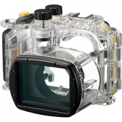 Canon - 6924B001 - Canon WP-DC48 Underwater Case for Camera - Clear - Dust Proof, Water Proof - Polycarbonate - Neck Strap, Wrist Strap - 4.3 Height x 5.9 Width x 4.1 Depth