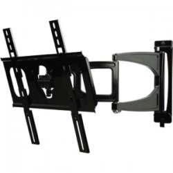 Peerless - SUA746PU - Peerless-AV SUA746PU Mounting Arm for Flat Panel Display - 32 to 46 Screen Support - 60 lb Load Capacity - Black