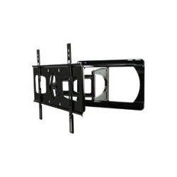 Peerless - SUA751PU - Peerless-AV SUA751PU Mounting Arm for Flat Panel Display - 37 to 55 Screen Support - Black
