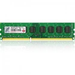 Transcend - TS1GLK64V3H - Transcend 8GB DDR3 SDRAM Memory Module - 8 GB (1 x 8 GB) - DDR3 SDRAM - 1333 MHz DDR3-1333/PC3-10600 - Non-ECC - Unbuffered - 240-pin - DIMM