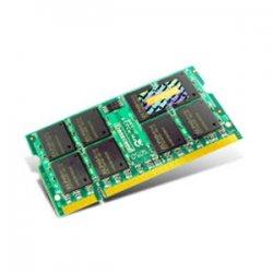 Transcend - JM667QSU-1G - Transcend JetRAM 1GB DDR2 SDRAM Memory Module - 1GB - 667MHz DDR2-667/PC2-5300 - Non-ECC - DDR2 SDRAM - 200-pin SoDIMM