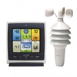 Chaney Instrument - 00589 - AcuRite 3in1 Color Weather Ctr