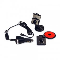 Garmin - 0101093500 - Garmin Suction Cup Mount With Vehicle Power Cable