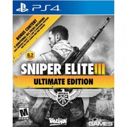 505 Games - 71501844 - 505 Games Sniper Elite III Ultimate Edition - Third Person Shooter - PlayStation 4