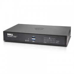 SonicWALL / Dell - 01-SSC-1708 - SonicWALL TZ500 - Advanced Edition - security appliance - with 1 year TotalSecure - 8 ports - GigE