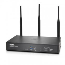 SonicWALL / Dell - 01-SSC-1709 - SonicWall TZ500 Wireless-AC - Advanced Edition - security appliance - with 1 year TotalSecure - 8 ports - GigE - Wi-Fi - Dual Band