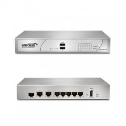 SonicWALL / Dell - 01-SSC-9750 - SonicWALL NSA 220 - 7 Port Gigabit Ethernet - USB - 1 - Manageable