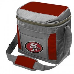 Rawlings - 03291084111 - Rawlings SoftSide Carrying Case for Can - San Francisco 49ers Team Full Color Printed Logo