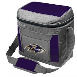 Rawlings - 03291092111 - Rawlings SoftSide Carrying Case for Can - Baltimore Ravens Team Full Color Printed Logo
