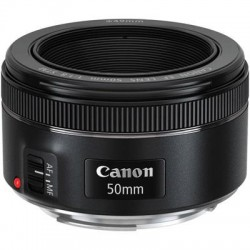 Canon - 0570C002 - Canon - 50 mm - f/1.8 - Fixed Focal Length Lens for Canon EF - Designed for Camera - 49 mm Attachment - 0.21x Magnification