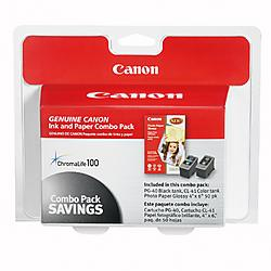 Canon - 0615B009 - Canon PG-40/CL-41 Print Cartridge/Paper Kit - White, Red - 1 / Pack