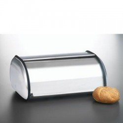 Anchor Hocking - 08994MR - Brushed Steel Bread Box Euro