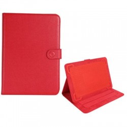 PCT Brands - 09398 - Digital Treasures Universal Carrying Case (Folio) for 10.1 Tablet - Red
