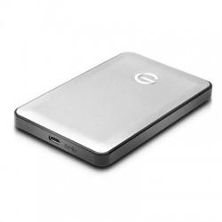 G-Tech / Fabrik / SimpleTech - 0G04876 - HGST G-DRIVE mobile USB-C GDMUCN10001BDB 1000 GB 2.5 External Hard Drive - Portable - USB 3.1 - 7200rpm - Silver