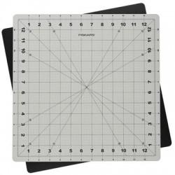 Fiskars - 100590-1003 - Fiskars Rotating Cutting Mat (14 x 14) - Fabric, Cutting - 14 Length x 14 Width - Square - Rotating Design