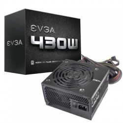 EVGA - 100-W1-0430-KR - EVGA 430W 80Plus Power Supply Unit (100-W1-0430-KR) - ATX12V - Internal - 430 W