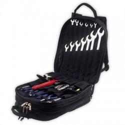 Custom Leathercraft - 1132 - Custom Leather Craft CLC-1132 75 Pocket - Heavy-Duty Tool Backpack