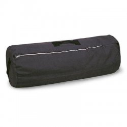 Stansport - 1233 - Stansport Carrying Case (Duffel) for Travel Essential - Black - Cotton Canvas - Handle - 25 Height x 42 Width
