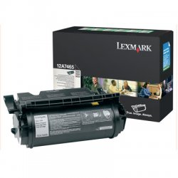 Lexmark - 12A7465 - Lexmark Original Toner Cartridge - Laser - 32000 Pages - Black - 1 Each