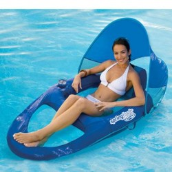 SwimWays - 13022 - Spring Float Recliner Canopy