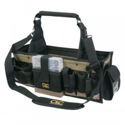 Custom Leathercraft - 1530 - Custom Leather Craft 1530 43-Pocket Electrical and Maintenance Tool Carrier