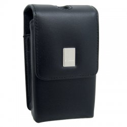 Canon - 1588B001 - Canon PSC-55 Deluxe Leather Camera Case - Top-loading - Leather - Black