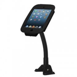 Compulocks Brands - 159B235SMENB - iPad Mini/Mini 2/Mini 3 Secure Space Enclosure with Flex Arm Kiosk Black - Metal, Silicone - Black