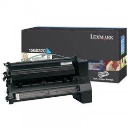 Lexmark - 15G032C - Lexmark Cyan Toner Cartridge - Cyan - Laser - 15000 Page - 1