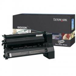 Lexmark - 15G032K - Lexmark Black Toner Cartridge - Black - Laser - 15000 Page
