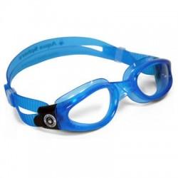 Aqua Lung - 171200 - Kaiman Blue Goggle Clr Lens Sm