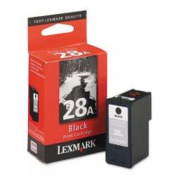 Lexmark - 18C1528 - Lexmark No. 28A Black Ink Cartridge - Black - Inkjet - 1 Each