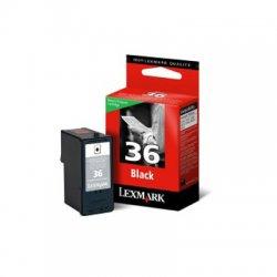 Lexmark - 18C2130 - Lexmark No.36 Black Ink Cartridge - Black - Inkjet - 175 Page - 1 Each