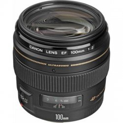 Canon - 2518A003 - Canon EF 100mm f/2 USM Standard & Medium Telephoto Lens - f/2