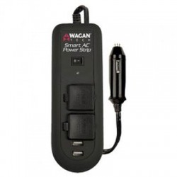 Wagan - 2621 - Wagan Smart AC Power Strip - Input Voltage: 15 V DC - Output Voltage: 120 V AC, 5 V DC - Continuous Power: 120 W